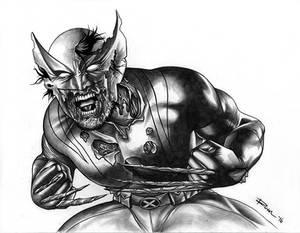 Zombie Wolverine Pencils