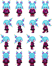 [Commission] Candy Cane sprite sheet by Lagoon-Sadnes