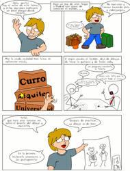 Gabi y Roque - Bienvenida by DibujanteMomar