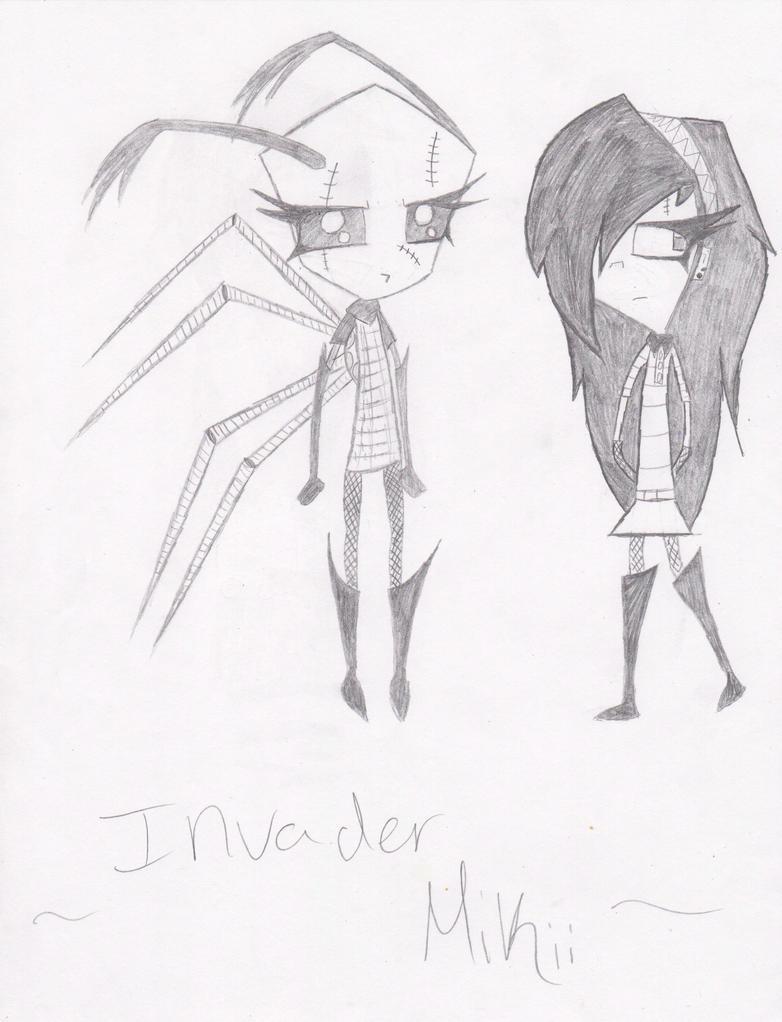 Me as an Irken by Bella-Swan-Fan