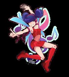 Winx Club - Musa by Phoenix-Manga