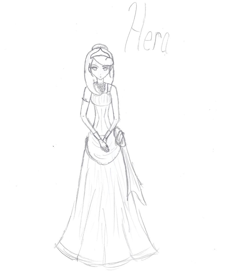 Hera by shoji-10 on DeviantArt
