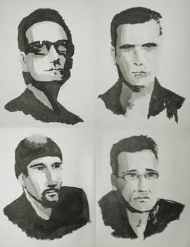 Black Ink - U2