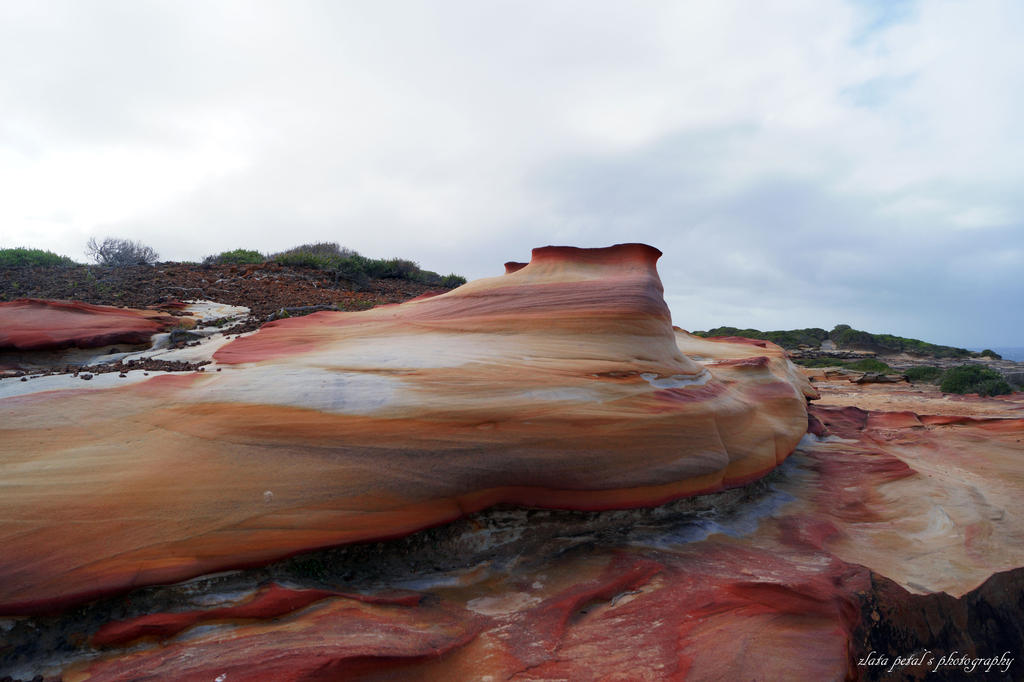 colourful rocks by Zlata-Petal