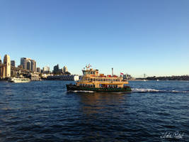 Sydney ferry by Zlata-Petal