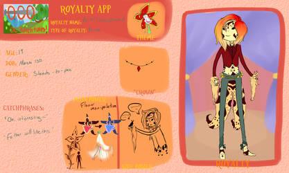 aoo royalty app Prince Orichid