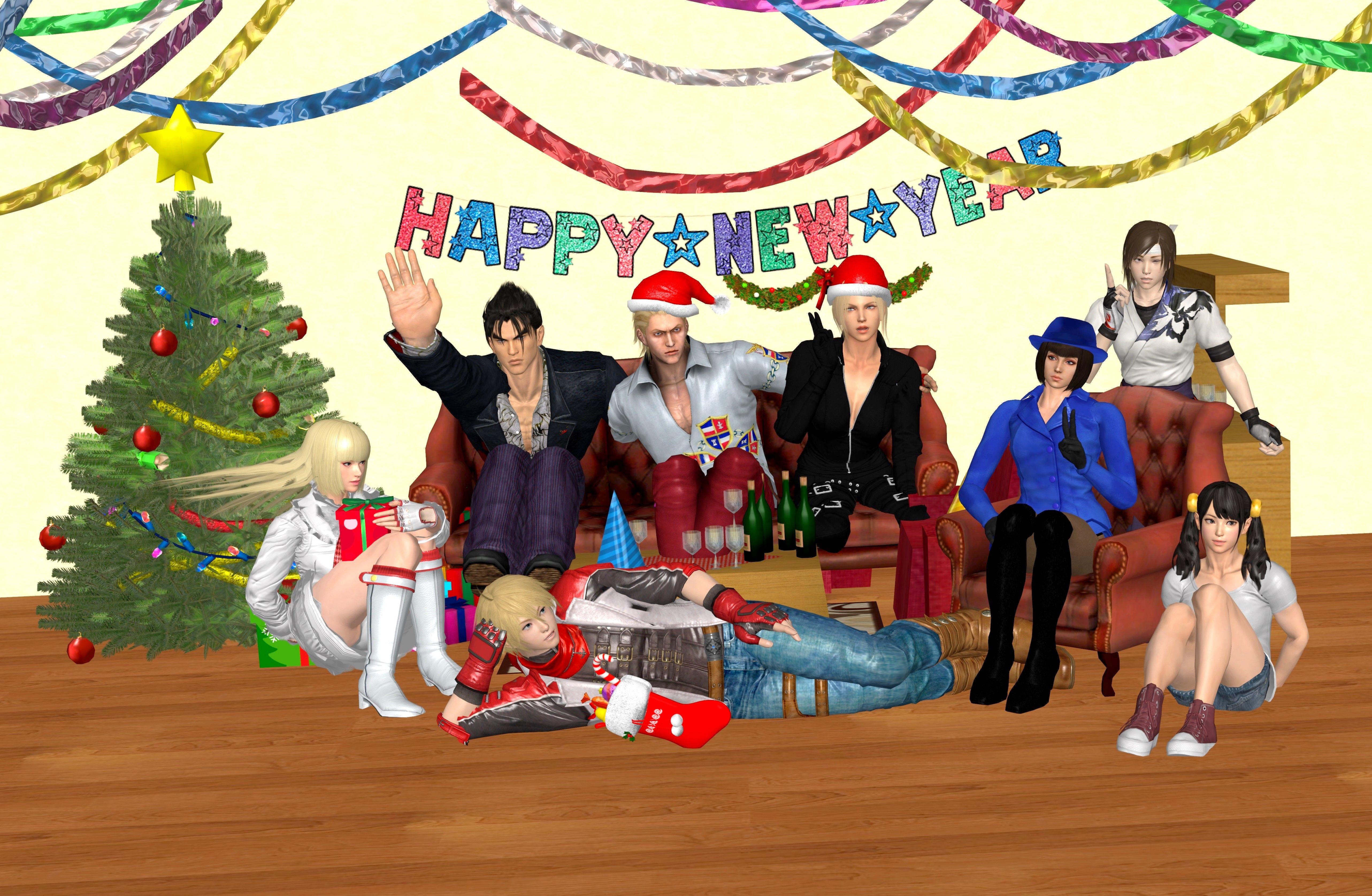 Tekken Christmas by Allochka-Dragunova