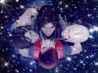 In space ... by Allochka-Dragunova