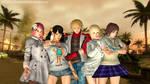 Tekken girls by Allochka-Dragunova