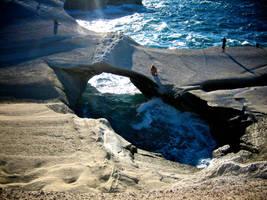 Bridge over sea by AkronadoreR