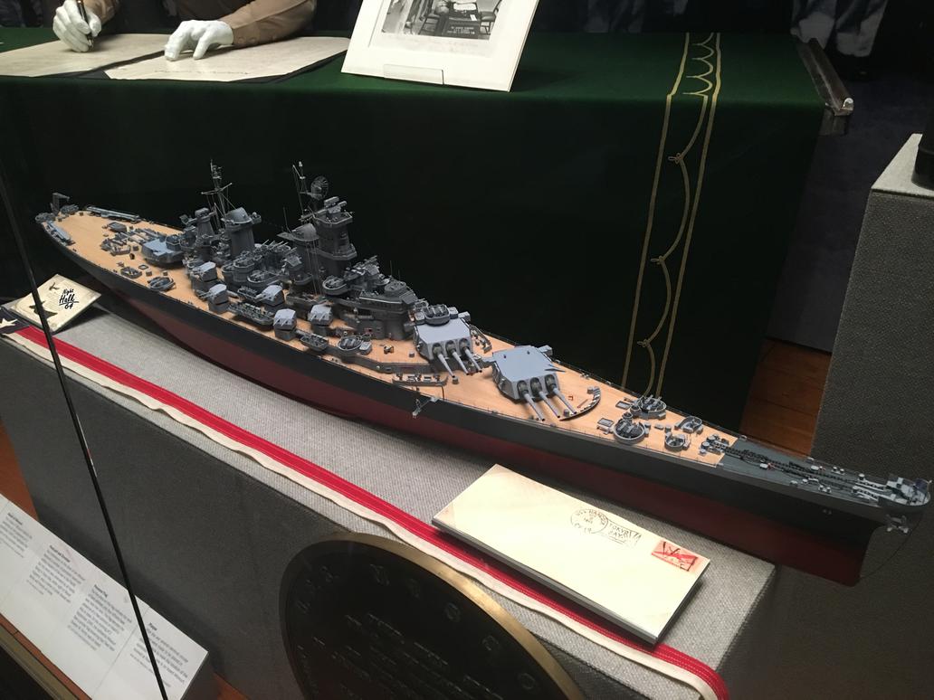 USS Missouri by Nighthalk64