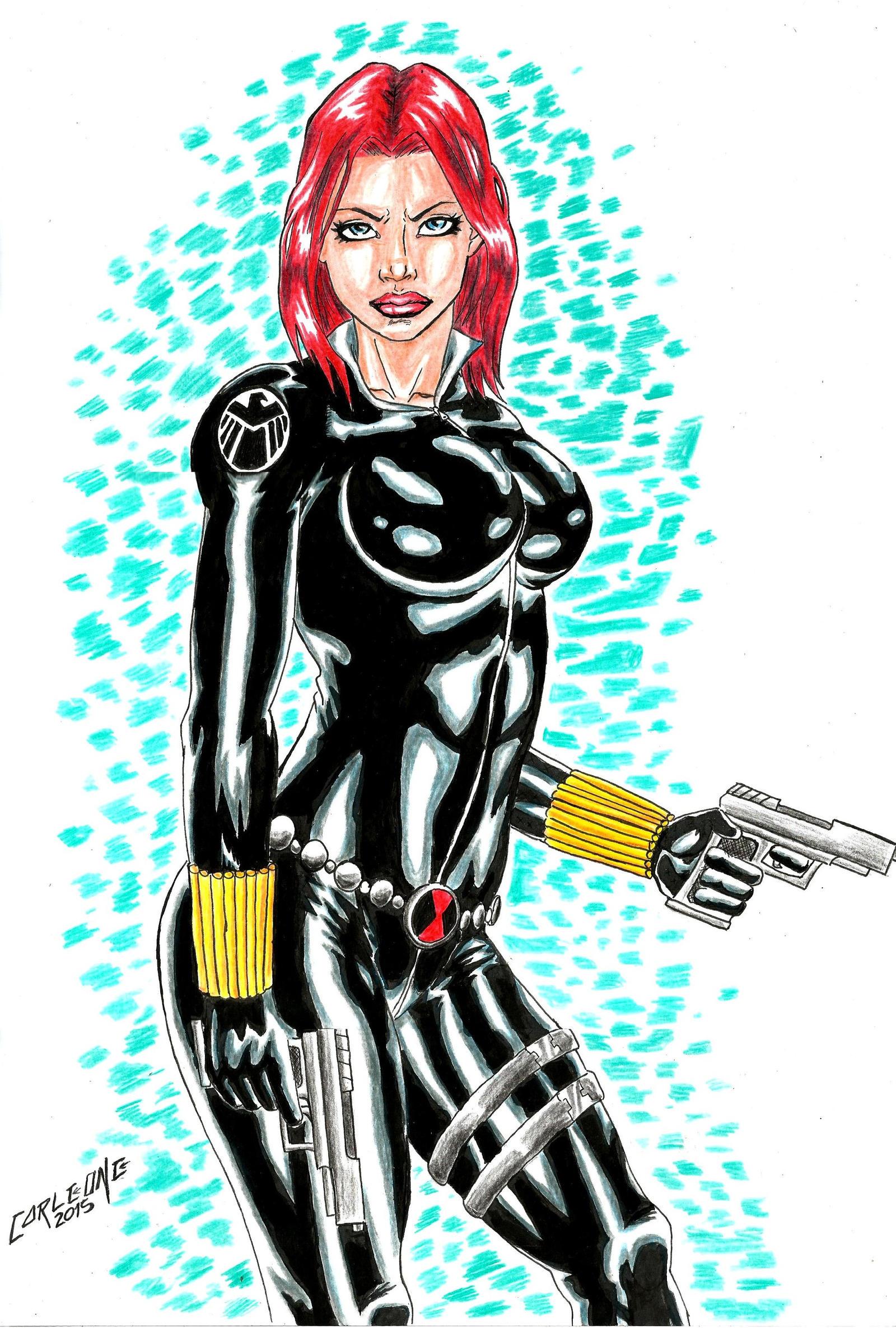 Black Widow by Carleonecardoso