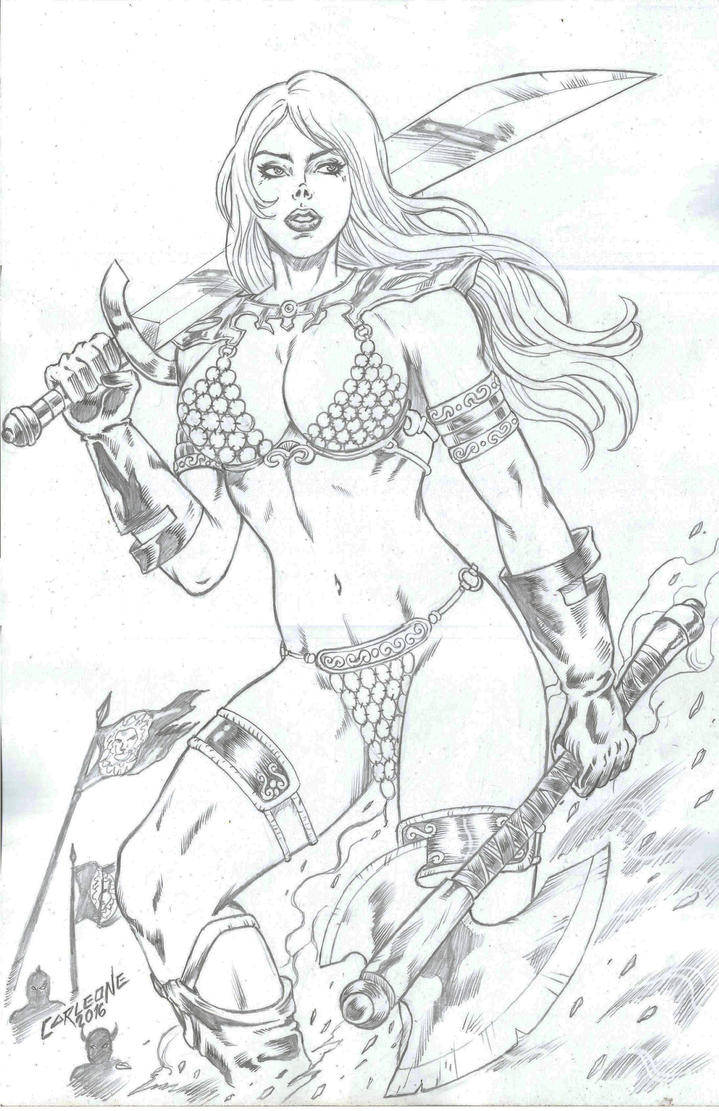 Red Sonja by Carleonecardoso