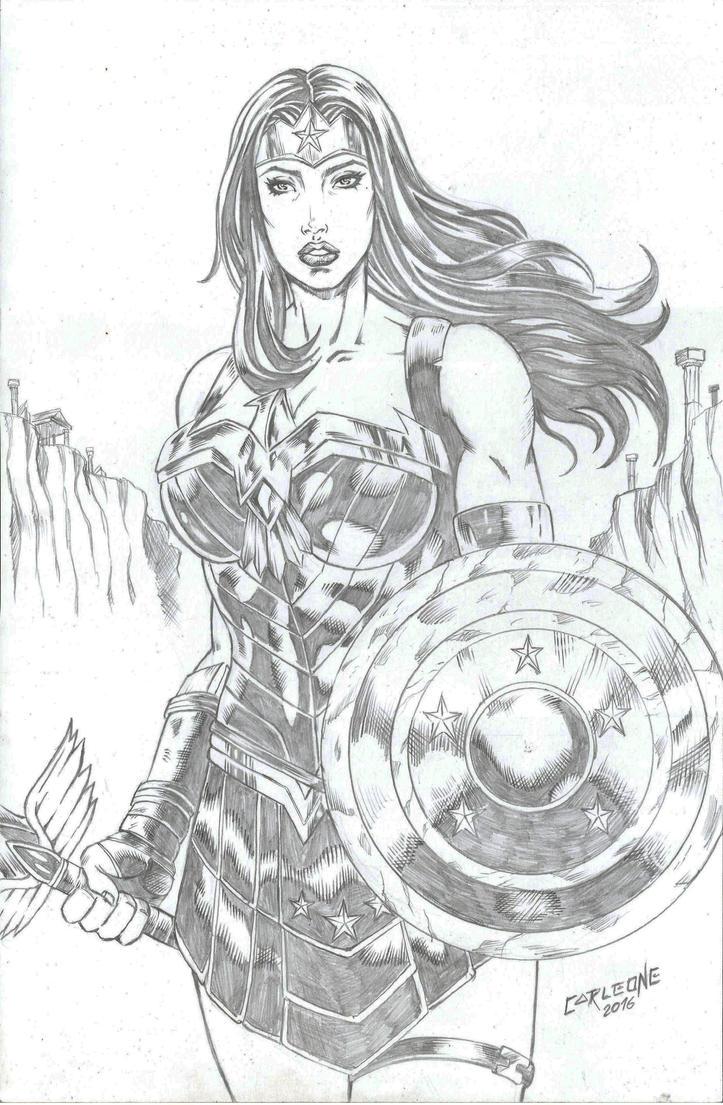 Wonder Woman by Carleonecardoso