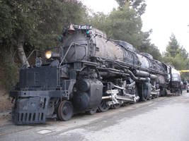 Union Pacific Big Boy 4014 in Pomona by rlkitterman