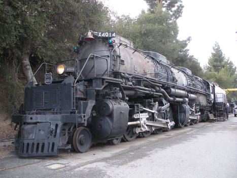 Union Pacific Big Boy 4014 in Pomona
