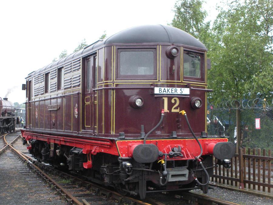 Metropolitan No. 12 Sarah Siddons at Railfest 2012 by rlkitterman