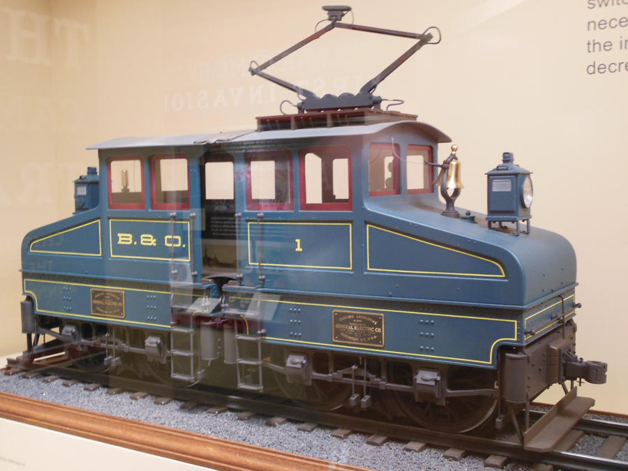 Baltimore and Ohio Electric No. 1 by rlkitterman