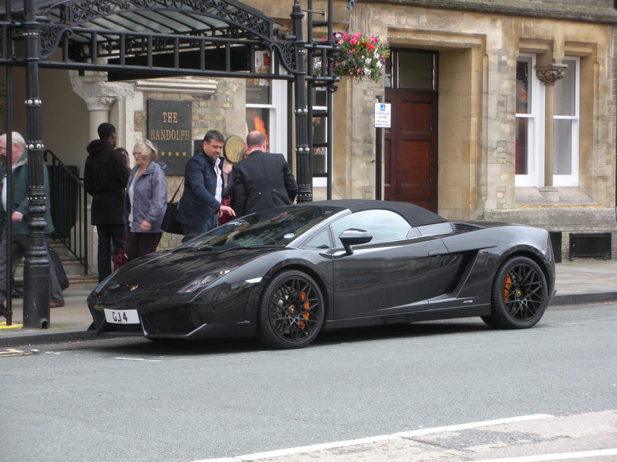 Great Black Lamborghini Gallardo Spyder In Oxford By Rlkitterman ...
