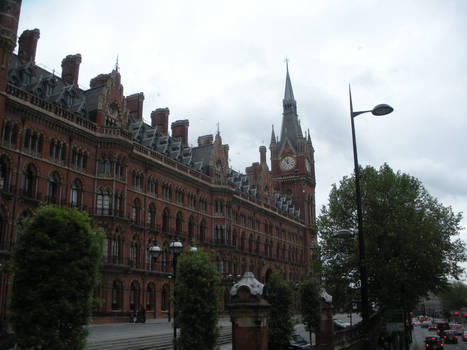 London St Pancras Station and Hotel