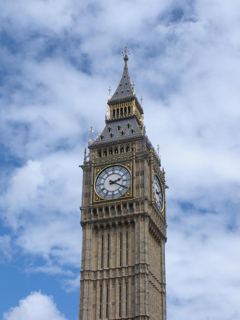 Westminster Clock Tower by rlkitterman