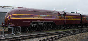 Duchess of Hamilton at Railfest 2012