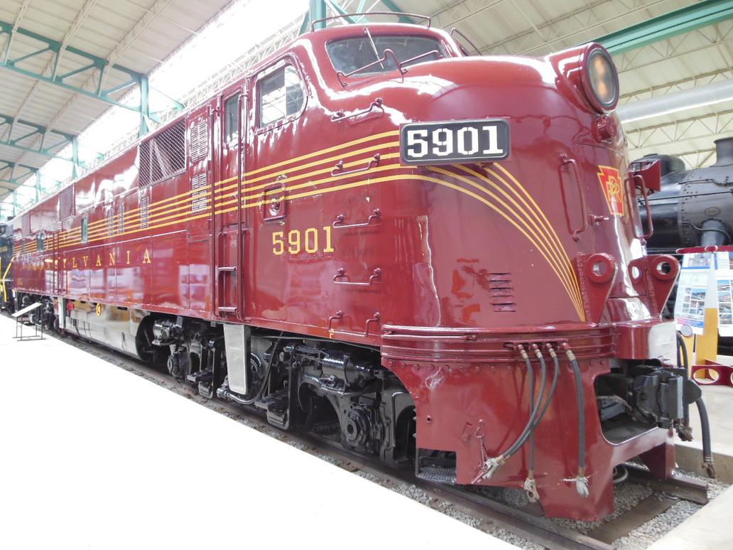 PRR E7 Diesel 5901 by rlkitterman ...