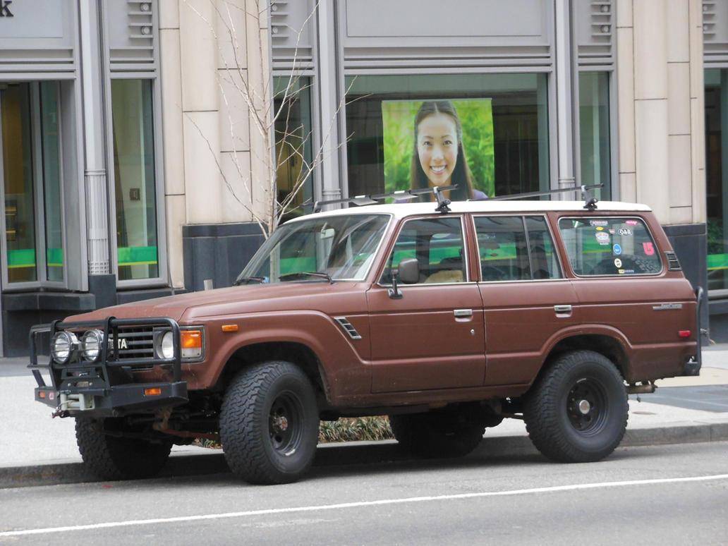 1980s Toyota Land Cruiser By Rlkitterman On Deviantart