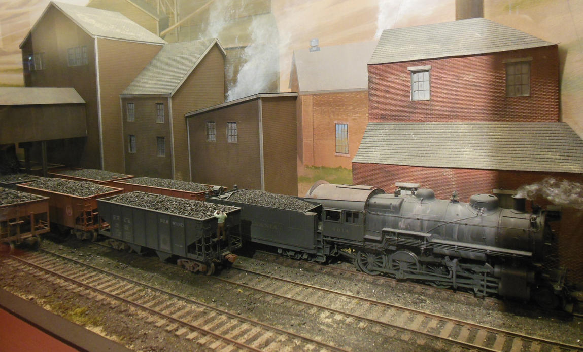 PRR Consolidation 6014 With Coal By Rlkitterman On DeviantArt