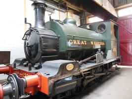 GWR Cardiff Tank 1338 by rlkitterman