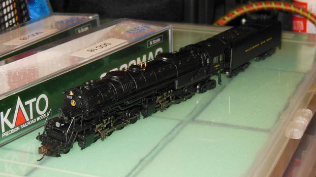 N-Scale Baltimore and Ohio 2-8-8-4 EM-1