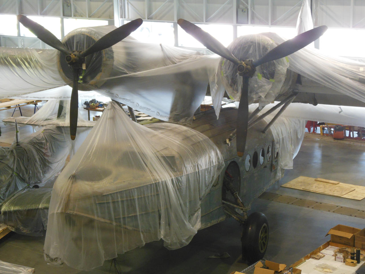 Sikorsky JRS-1 Flying Boat Restoration by rlkitterman