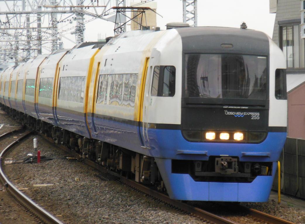 Boso View Express in Ichikawa by rlkitterman