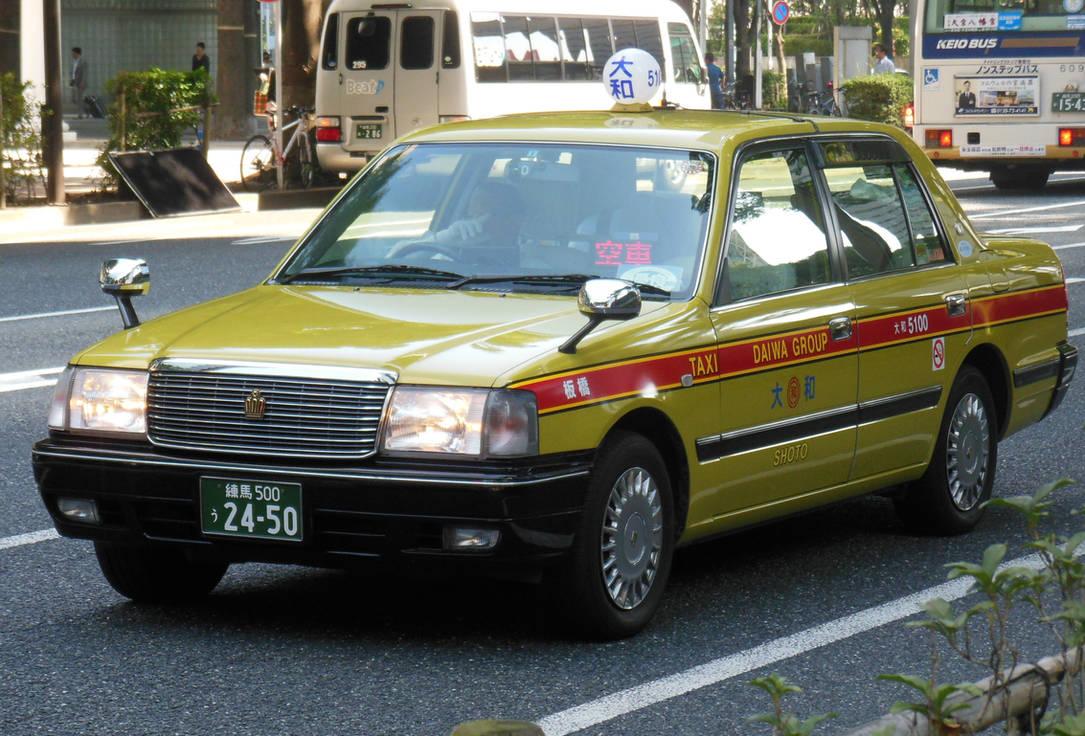 Daiwa Toyota Crown Taxi By Rlkitterman