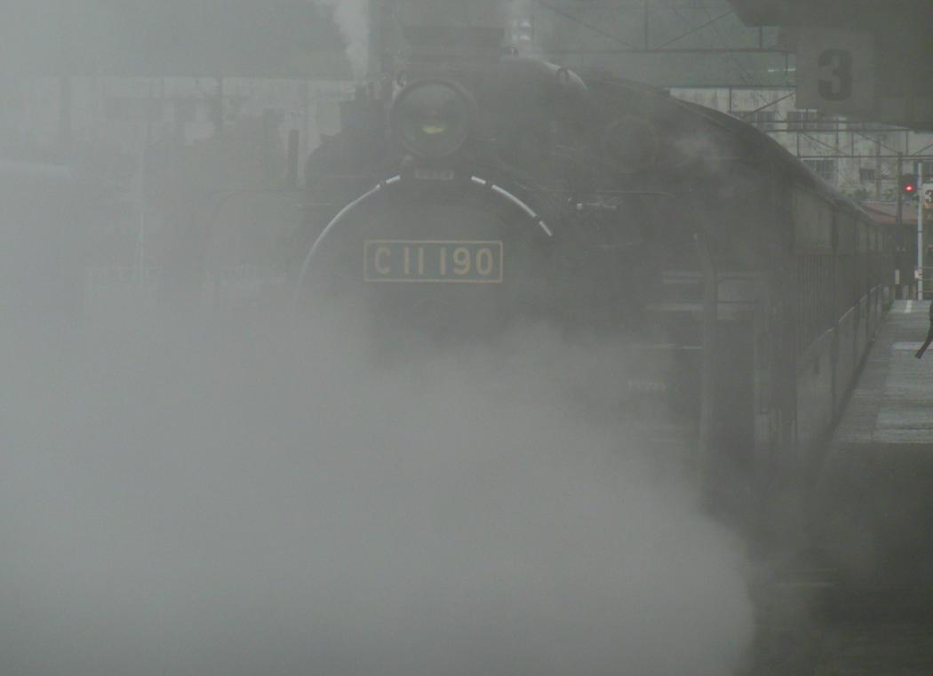 Heavy Smoke at Platform 3 by rlkitterman