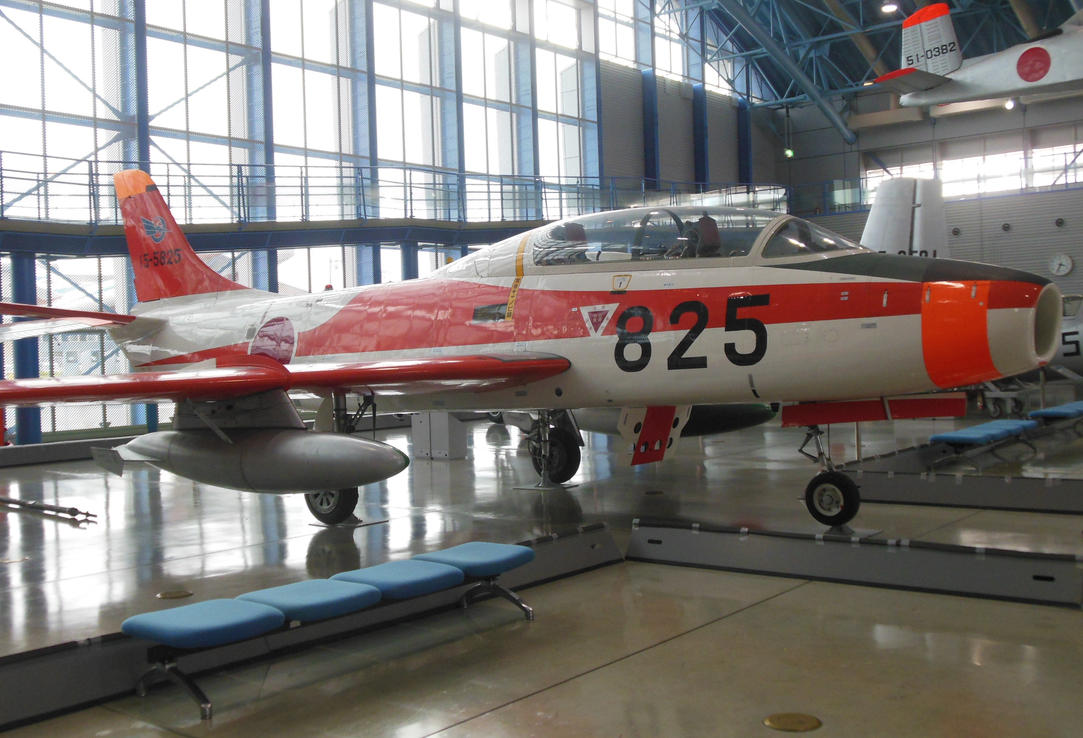 JASDF Fuji T-1 Trainer by rlkitterman