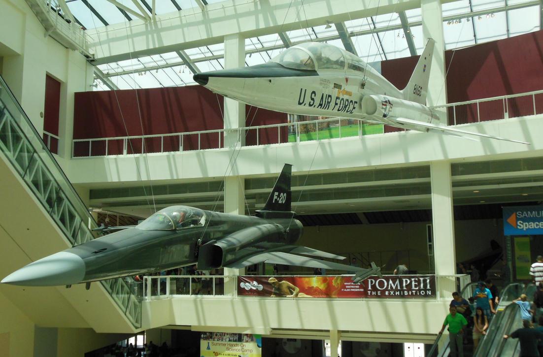 Northrop Talon and Tigershark by rlkitterman