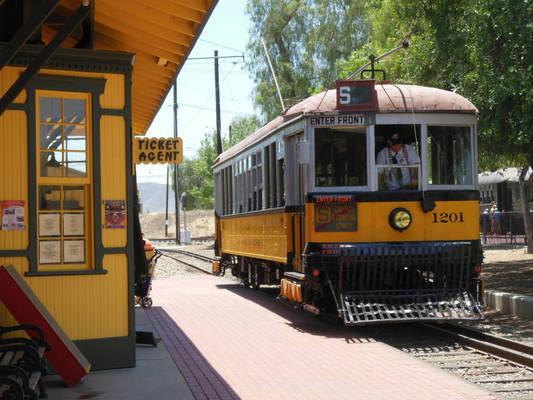 The Los Angeles Railway Still Runs