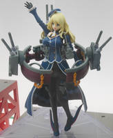 Kancolle Cruiser Atago by rlkitterman