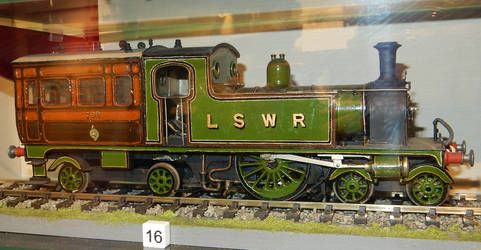 LSWR Drummond F9 Inspection Saloon