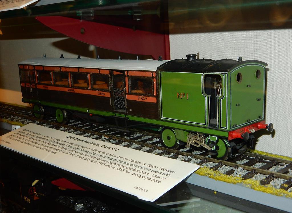 Lswr H12 Steam Railmotor No 1 By Rlkitterman On Deviantart