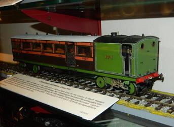 LSWR H12 Steam Railmotor No. 1