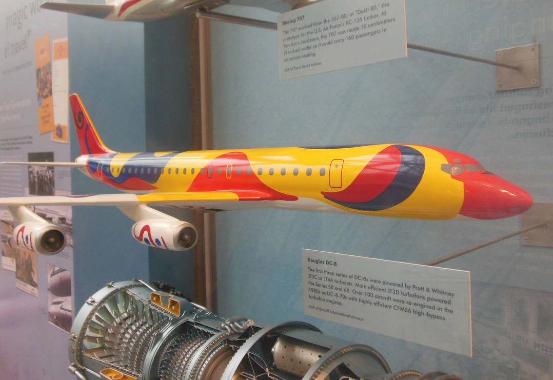 Braniff DC-8 Flying Colors of South America by rlkitterman on DeviantArt