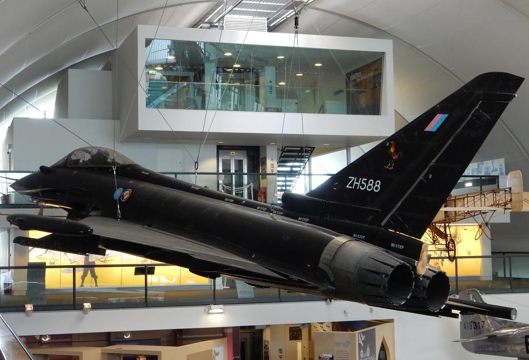 ZH588 in Flight by rlkitterman