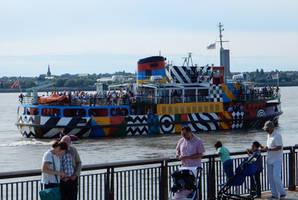 Dazzle Snowdrop Sailing into Liverpool by rlkitterman