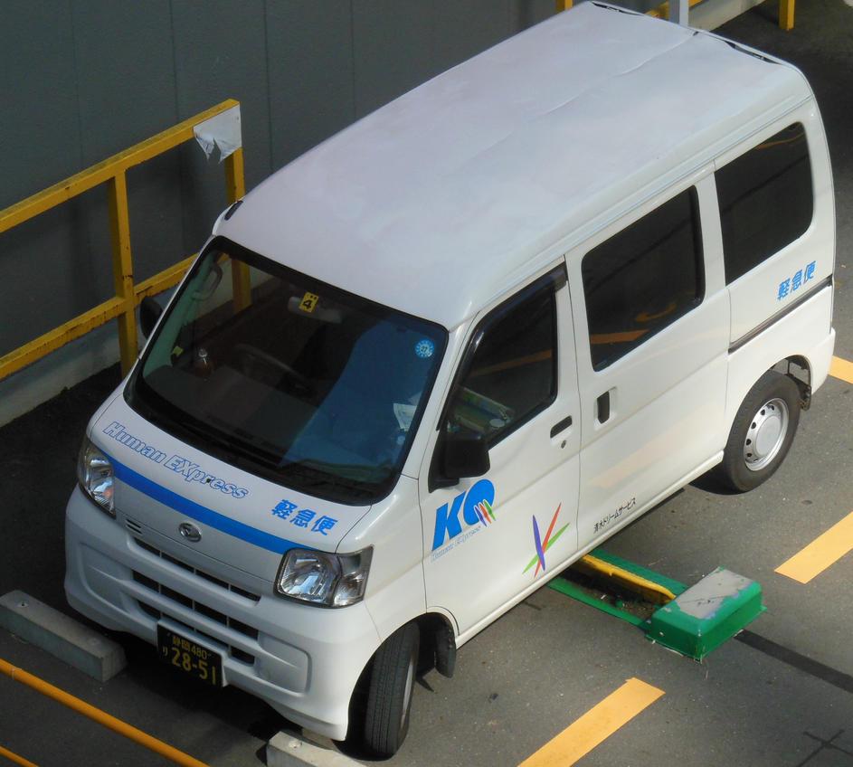Daihatsu Car Wallpaper: Daihatsu Human Express Van By Rlkitterman On DeviantArt
