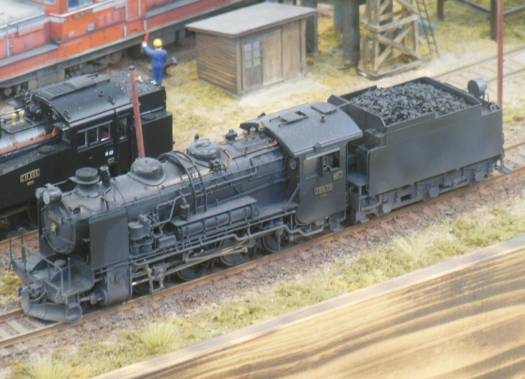 JNR Kawasaki Kyuroku Consolidation 39670 By Rlkitterman On