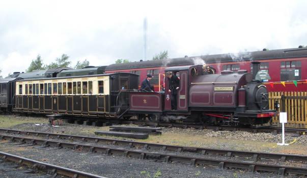 Palmerston and Tornado's Trains