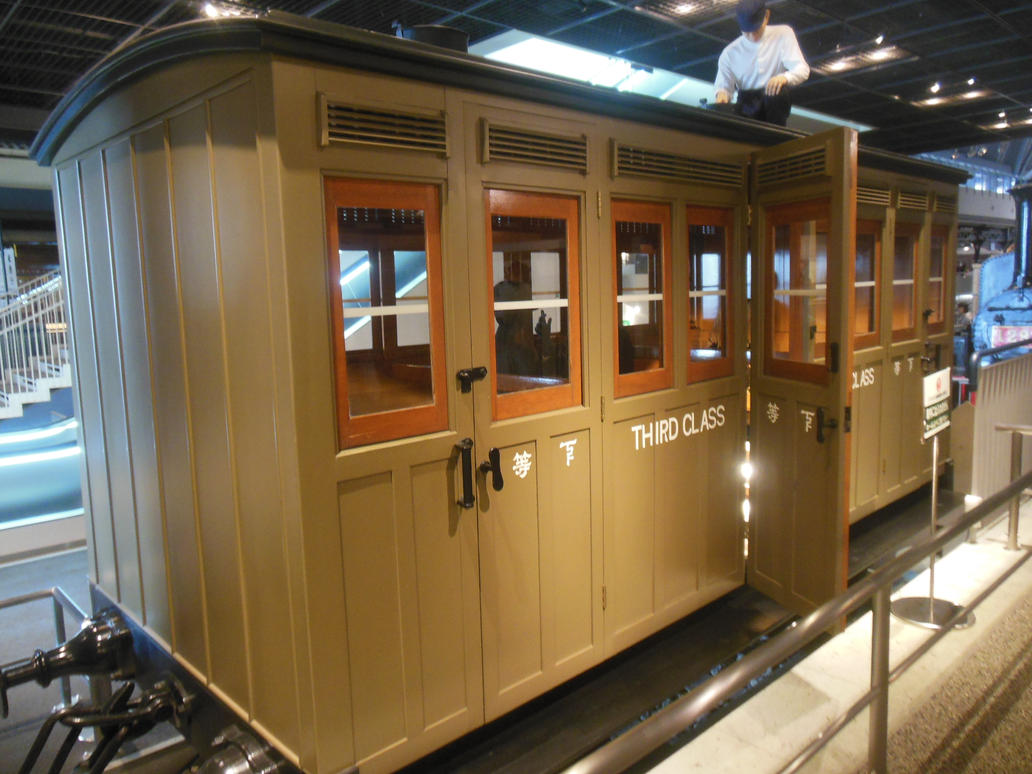 Imperial Govt. Rly. 4-Wheel Third-Class Carriage by rlkitterman