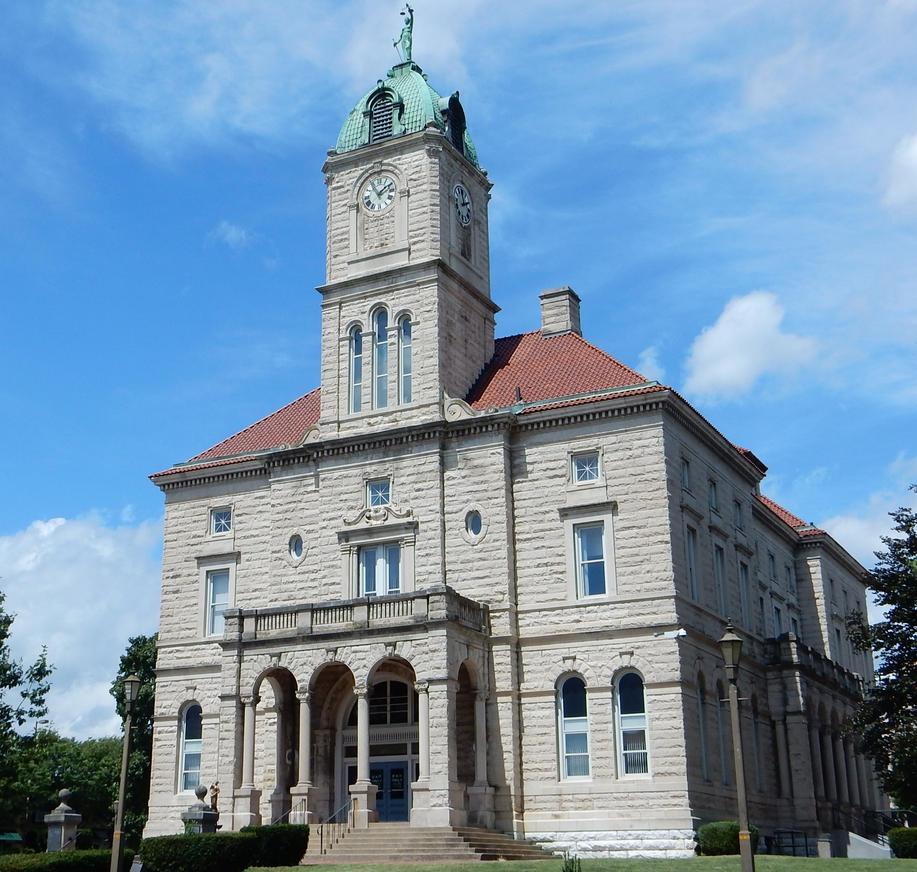 Rockingham County Courthouse, Harrisonburg, Va. By